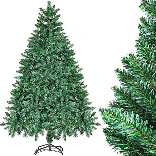 CHORTAU Weihnachtsbaum Künstlich 180cm, 800Tips Weihnachtsbaum 6ft, PVC-Material,...