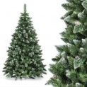 Künstlicher Weihnachtsbaum Premium Luvi weiss beschneit