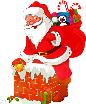 Christkind Weihnachtsmann Weihnachten 2016 von pixabay