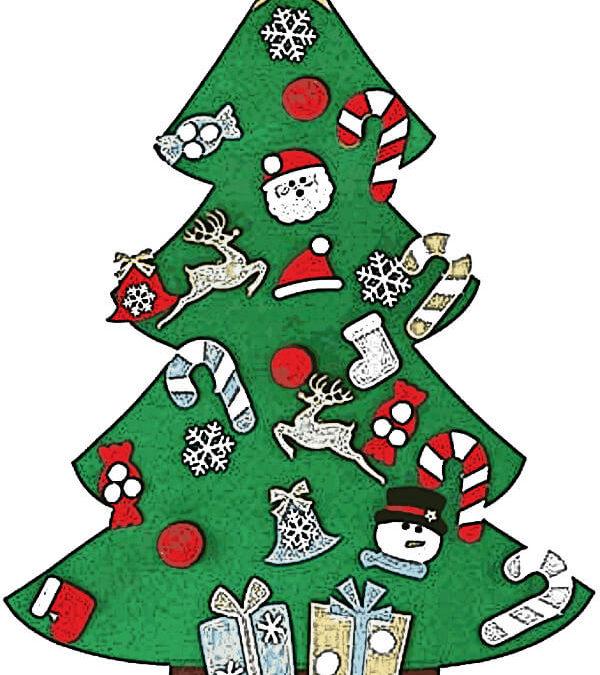 Filz-Weihnachtsbaum