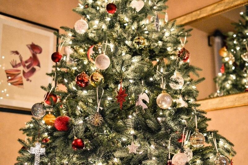Spritzguss Weihnachtsbaum mit LED Beleuchtung
