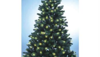 Künstlicher Weihnachtsbaum mit Beleuchtung (Spritzguss)